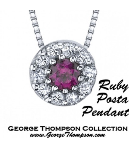 The Ruby Posta Pendant