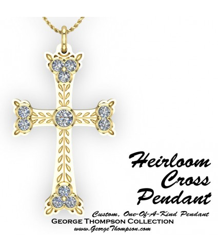 Custom Cross Pendant