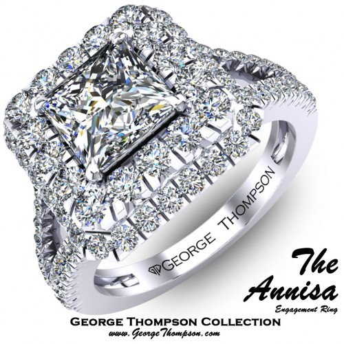 4952b8e8a The Annisa - Engagement Rings - Collection | George Thompson Diamond ...