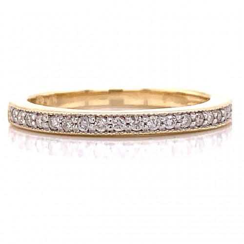 The Milasa Diamond Ring in 14kt Yellow gold