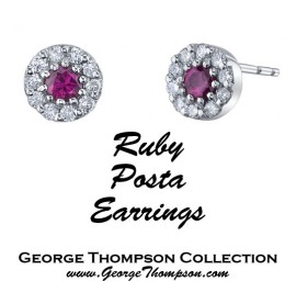 Ruby Posta Earrings