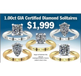 1cttw Diamond Solitaire Special