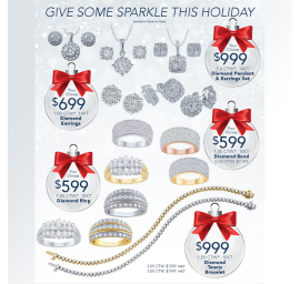 Holiday Sparkle Sale
