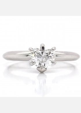 The Kachina Diamond Engagement Ring in 14kt White Gold